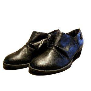 Dr. Scholls Womens Julian  Sz 7 Black Ankle Boots